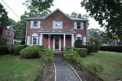Rockville Centre Single Family Home For Sale: 157 Grand Ave