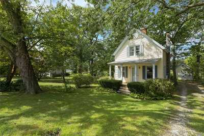 Mattituck Single Family Home For Sale: 3725 Wickham Ave