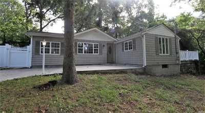 Sound Beach Single Family Home For Sale: 3 Mineola Rd