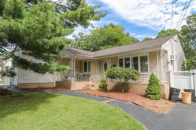 Central Islip  Single Family Home For Sale: 667 Wilson Blvd