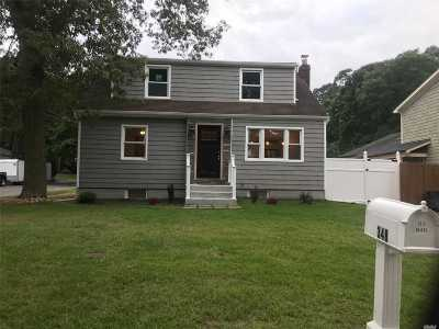 Ronkonkoma Single Family Home For Sale: 348 Central Islip Blvd