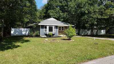 Center Moriches Single Family Home For Sale: 1 7th St