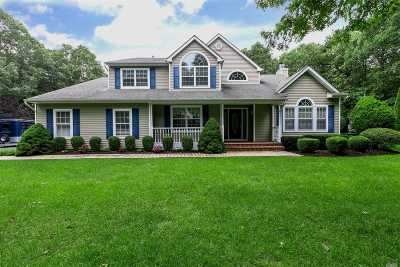 Manorville Single Family Home For Sale: 14 Rockhill Cir