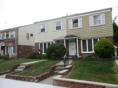 Flushing Single Family Home For Sale: 45-48 169th St