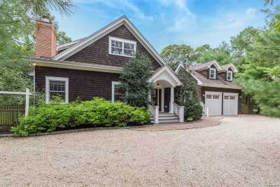 Quogue Single Family Home For Sale: 45 Old Depot Rd