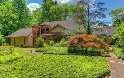 Upper Brookville Single Family Home For Sale: 32 Winding Ln