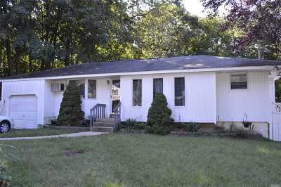 Nassau County, Suffolk County Single Family Home For Sale: 6 Larry Rd