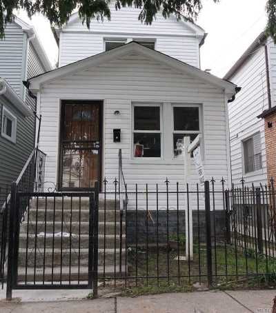 Jamaica Single Family Home For Sale: 116-40 146th St