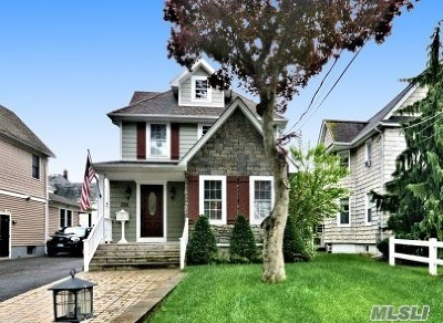 Rockville Centre Single Family Home For Sale: 256 Lakeview Ave