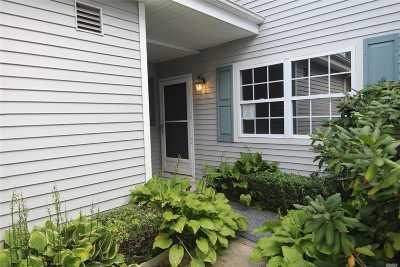 Moriches Condo/Townhouse For Sale: 502 Oak Bluff Ct
