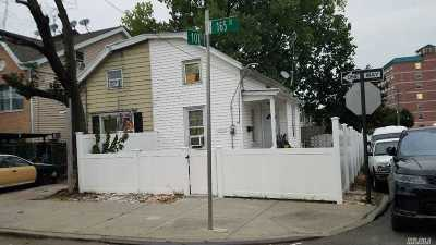 Jamaica Single Family Home For Sale: 104-83 165th St