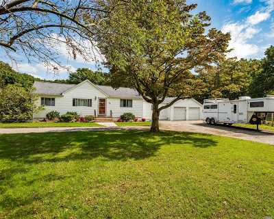 Ridge Single Family Home For Sale: 35 Half Moon Pond Rd