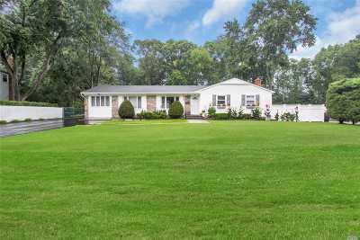 Smithtown Single Family Home For Sale: 7 Mark Dr