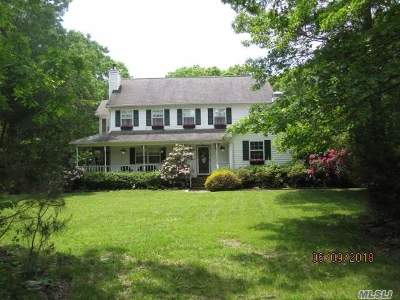 Remsenburg Single Family Home For Sale: 29 Hickory Bend