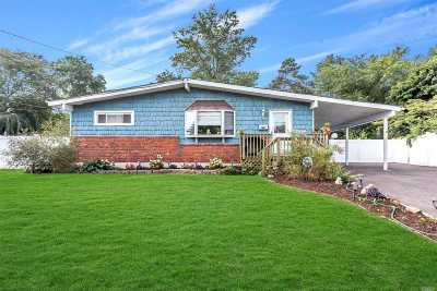 central Islip Single Family Home For Sale: 12 Dawn Cres