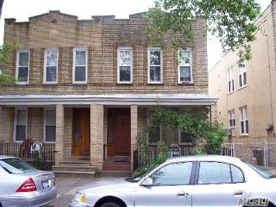 Middle Village Multi Family Home For Sale: 67-58 78th St