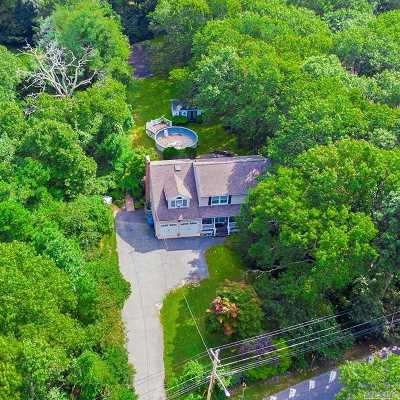 Manorville Single Family Home For Sale: 511 Wading River Rd