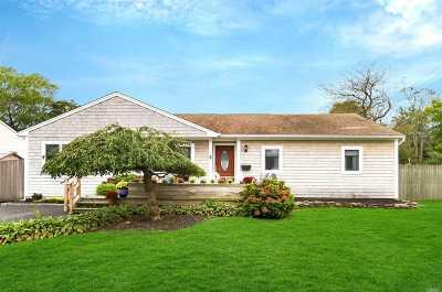 Sayville Single Family Home For Sale: 2 Washington St