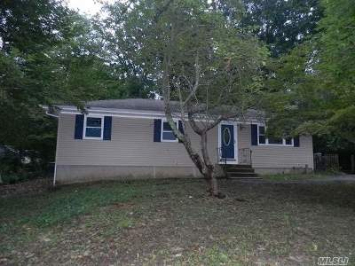 Rocky Point Single Family Home For Sale: 27 Daffodil Rd