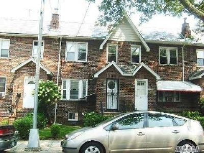 Jamaica Single Family Home For Sale: 82-75 160th St