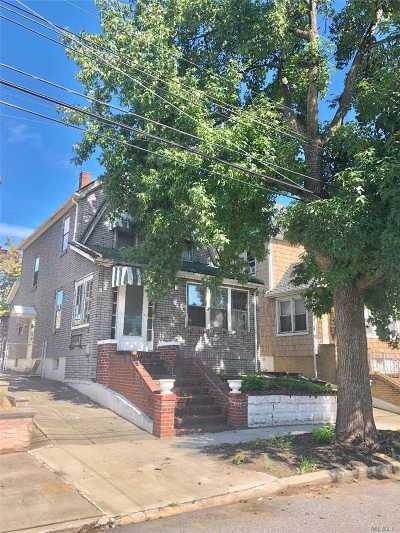 Flushing Single Family Home For Sale: 171-33 Bagley Ave