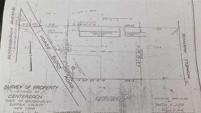 Centereach Residential Lots & Land For Sale: 75 Horseblock Rd