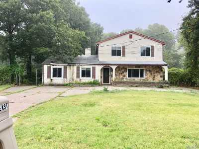 Patchogue Single Family Home For Sale: 163 E Woodside Ave