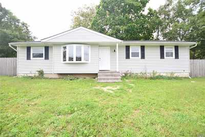 Central Islip  Single Family Home For Sale: 345 Nicoll Ave