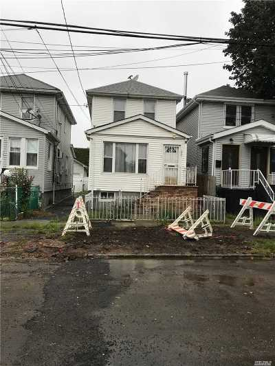 Jamaica Single Family Home For Sale: 173-61 103rd Rd