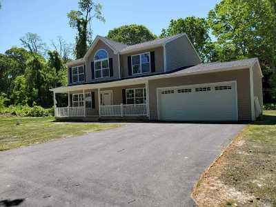 Middle Island Single Family Home For Sale: Lot #9 Church Ln