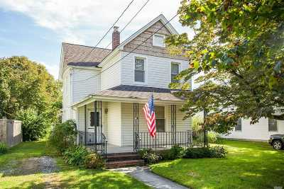 Patchogue Single Family Home For Sale: 47 Cedar Ave
