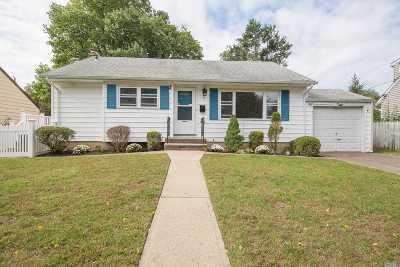 Hicksville Single Family Home For Sale: 54 Salem Rd