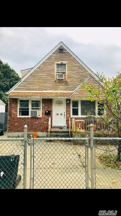 Flushing Single Family Home For Sale: 158-28 73rd Ave
