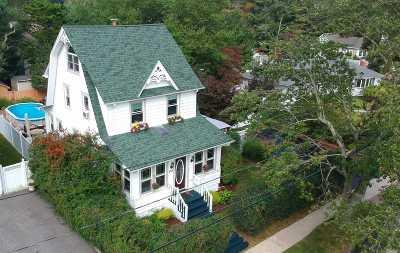 Copiague Single Family Home For Sale: 155 Kensington Ct
