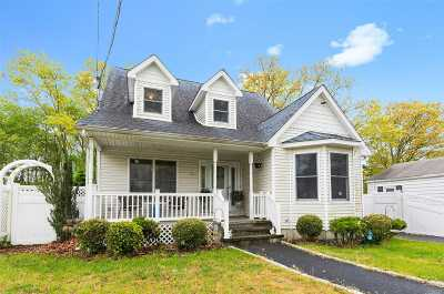 Patchogue Single Family Home For Sale: 58 Mowbray St