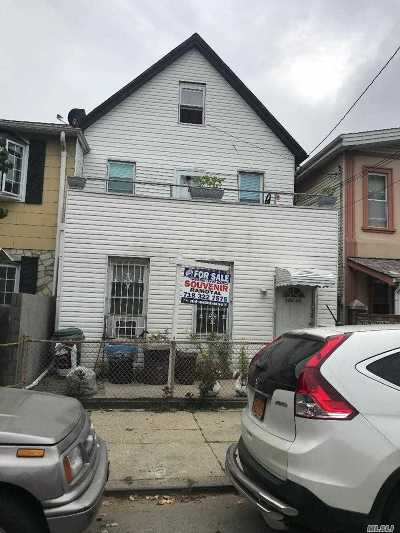 Ozone Park Multi Family Home For Sale: 103-30 96th St