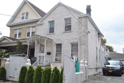 Ozone Park Single Family Home For Sale: 97-44 93rd St