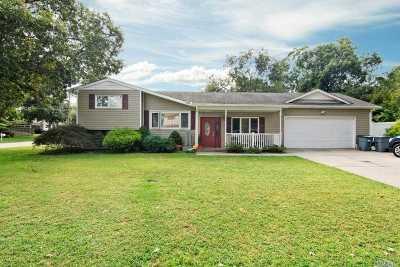 Centereach Single Family Home For Sale: 115 Tudor Rd