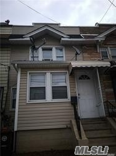 Woodhaven Single Family Home For Sale: 92-45 75 St