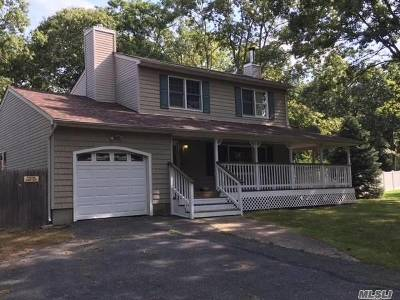 Middle Island Single Family Home For Sale: 1 Flicker Dr