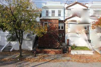 Woodhaven Single Family Home For Sale: 84-37 85th Ave