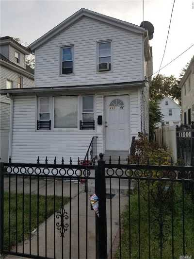 Jamaica Single Family Home For Sale: 111-48 159th St