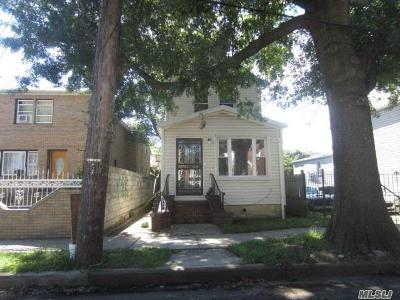 Jamaica Single Family Home For Sale: 145-42 130th Ave
