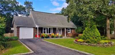 Westhampton Single Family Home For Sale: 3 Summit Blvd
