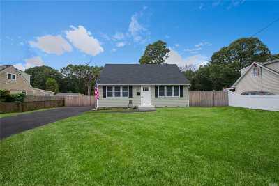 Centereach Single Family Home For Sale: 169 Noel Dr
