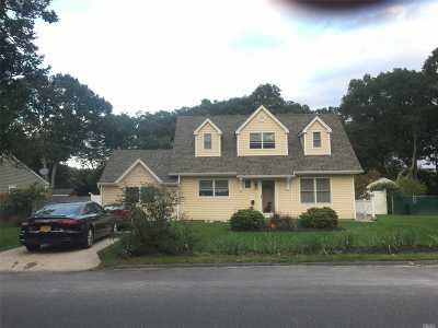 Centereach Single Family Home For Sale: 162 Noel Dr