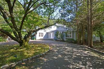 Quogue Single Family Home For Sale: 15 E Deerfield Rd