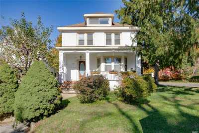 Oyster Bay Multi Family Home For Sale: 121 Berry Hill Rd
