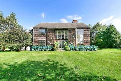 Water Mill Single Family Home For Sale: 1 Millfarm Ln