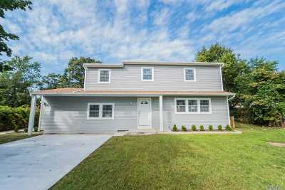 Central Islip  Single Family Home For Sale: 55 2nd Pl